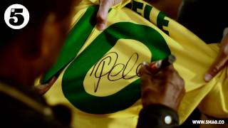 Rio Gives Away Signed Pele Shirt | #5 Legends