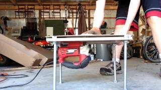 Jigsaw2bandsaw Demonstration  (instructables Portable Workstation Contest)