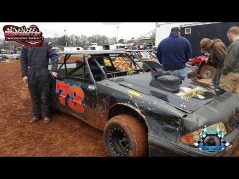 #73 Dustin Halbrooks - Pure Pony - Winner - 2-18-17 Winchester Speedway - In-Car Camera