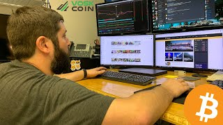He Built a Cryptocurrency Mining Farm with FREE ELECTRICITY!