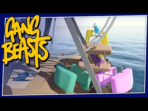 Gang Beasts - #142 - FERRIS WHEEL DISASTER!
