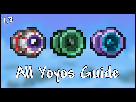 All Yoyos Guide - Terraria 1.3