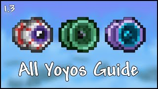 All Yoyos Guide - Terraria 1.3