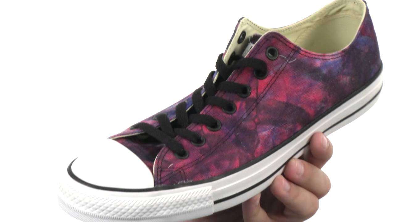 8a16bc45689d Converse - Chuck Taylor® All Star® Tie Dye Canvas Ox SKU 8261894 ...