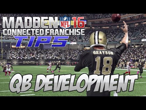 Madden NFL 16 Connected Franchise Tips: QB Development