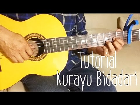 Al Ghazali - Kurayu Bidadari (Tutorial Fingerstyle & Chord Guitar) | Ilham Andika