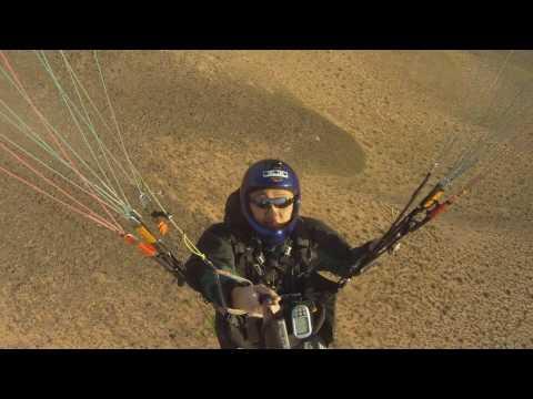 Paragliding Jean Ridge Las Vegas Nevada HD