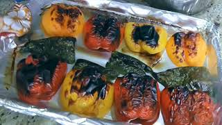 How to Roast and Peel Peppers - Tips & Tricks #24