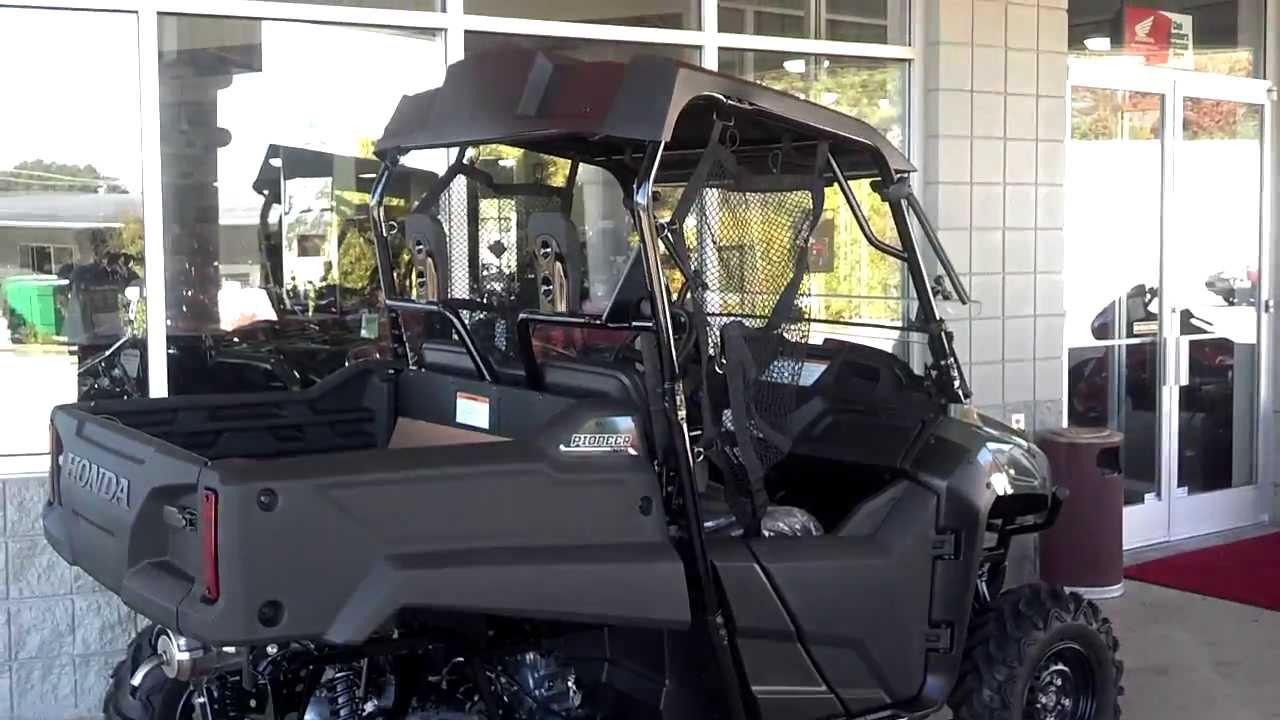Honda pioneer 700-2 accessories