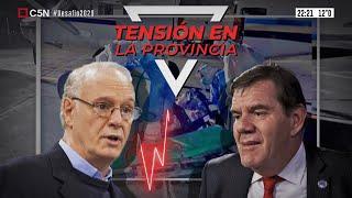Tensión en la Provincia: El ministro Gollán cruzó al intendente marplatense Montenegro