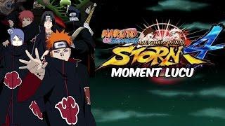 PERANG AKATSUKI!   Naruto Shippuden Ultimate Ninja Storm 4 Moment Lucu (Bahasa Indonesia)
