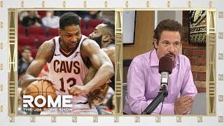 Tristan Thompson Is Trending on Twitter | The Jim Rome Show