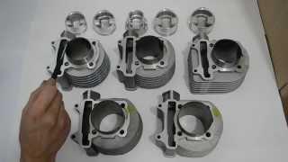 Обзор тюнинг поршневых для двигателей GY-6(152QMI, 157QMJ)