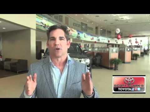 Grant Cardone Visits Scott Clark Toyota