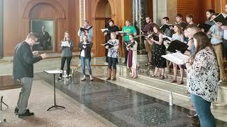 Omnis una, from Gloria Patri (Urmas Sisask) -- Baylor Chamber Singers