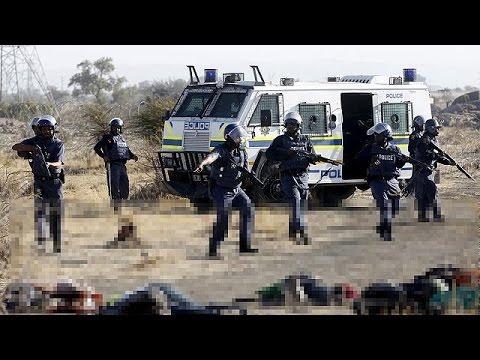 Massacre de Marikana en Afrique du Sud : l'attitude de la police mise en cause