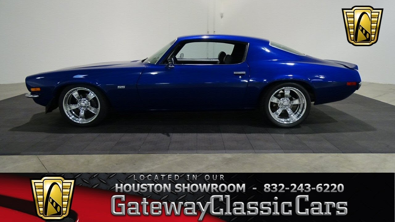1970 Chevrolet Camaro Ss Gateway Classic Cars 643 Houston