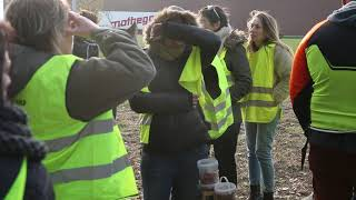 Gilets jaunes : Blocage de la base logistique Lidl de Vars