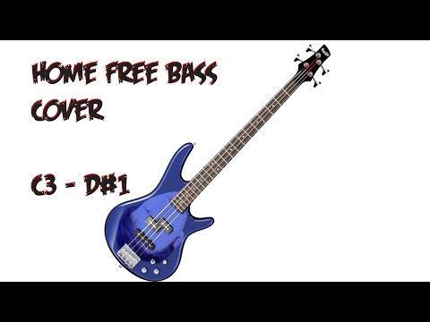 Home Free: Wake Me Up Bass Cover C3 - D#1