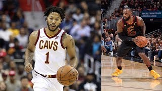 Derrick Rose Weighing NBA Future! LeBron Triple Double! Hornets vs Cavs 2017-18 Season