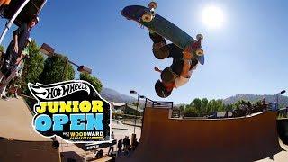 Skate Vert Highlights - Hot Wheels Junior Open at Woodward West