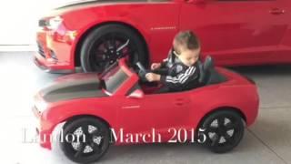 AWESOME!  Kids Ride On Camaro doing Burnouts! | Power Wheels | Amazing Kid Toys | Bonus Video