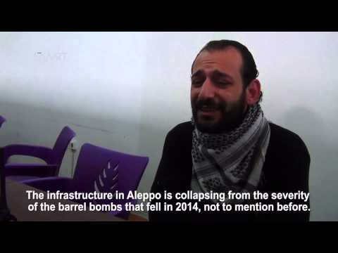 The Aleppo local council: The revolution continues in the face of barrel bombs