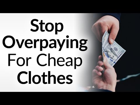 exclusive range reasonable price innovative design Don't Get Ripped Off Buying Clothes | 5 Things To Look For In Quality  Clothing