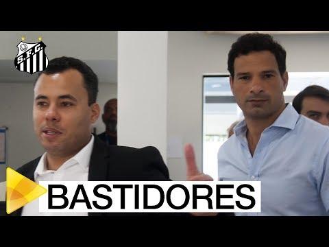 Os primeiros momentos de JAIR VENTURA e GUSTAVO VIEIRA no SANTOS FC