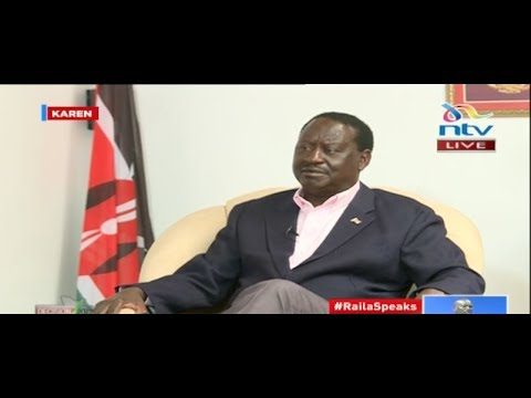 I want to be a servant of the Kenyan people - Raila Odinga