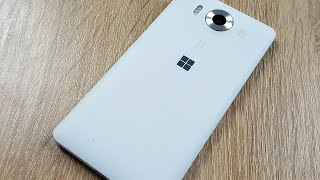 Microsoft Lumia 950 и док станция, полный обзор виндофона!