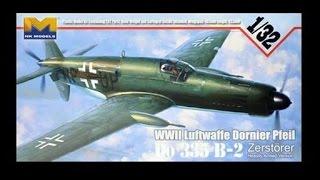 Hong Kong Models 1/32 Dornier D0-335 B2