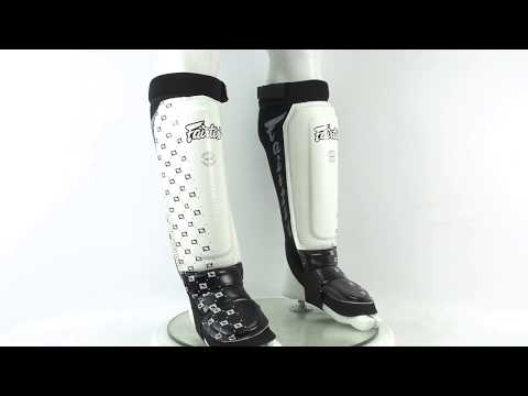 Щитки Fairtex Neoprene Shin Pads SP6 White