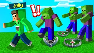 *NEW* Ways To SURVIVE A ZOMBIE APOCALYPSE In MINECRAFT!