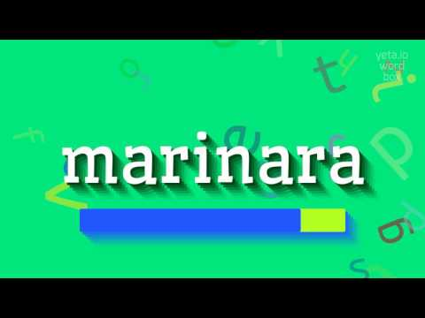 """How to say """"marinara""""! (High Quality Voices)"""