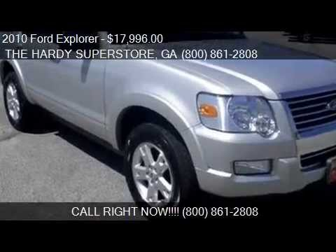 2010 Ford Explorer XLT 4x4 4dr SUV for sale in Dallas, GA 30157 serving Rockmart and Acworth