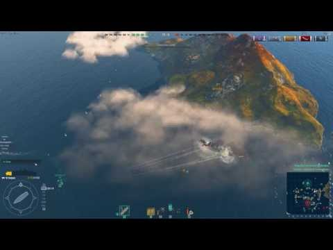 World of Warships - Saipan  Air cover can be fun too!