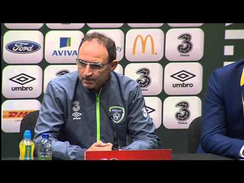 Republic of Ireland v Bosnia and Herzegovina - Pre Match Presser - O'Neill and Clark (15/11/15)
