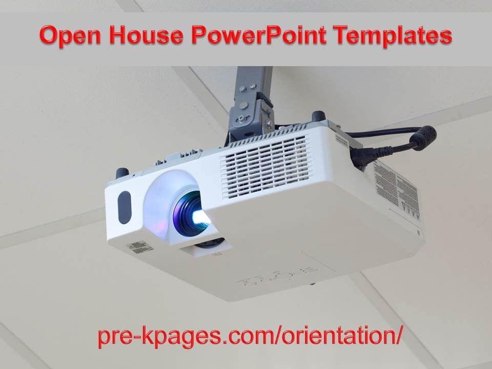 back-to-school open house powerpoint template - youtube, Modern powerpoint