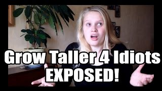 Grow Taller 4 Idiots Scam | My Honest Grow Taller 4 Idiots Review