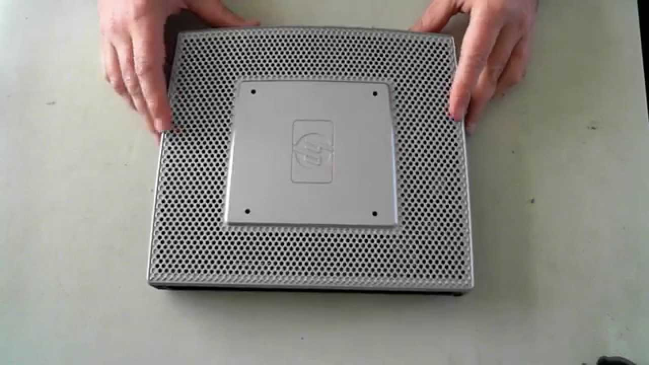 hp t5740 thin client opening youtube rh youtube com HP Compaq 5000 HP Thin Client Specs