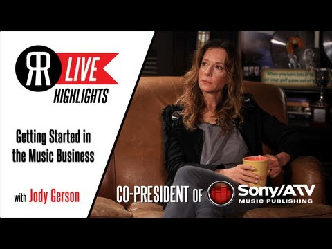 Jody Gerson, Co-Pres of Sony/ATV Music Publishing, on Her Start in Music Biz - Drive and Networking