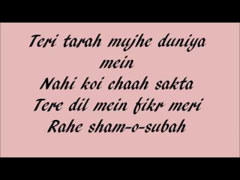 Tera Naal Ishqa Hua ...Shivaay.Lyrics Video