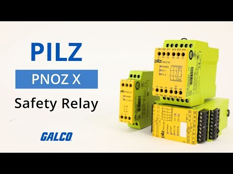 Pilz PNOZ X Safety Relay