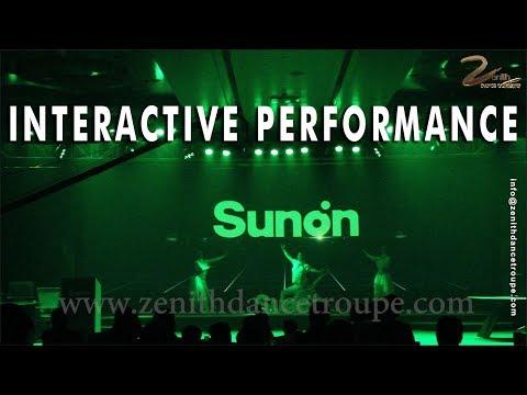 interactive av dance performance,Visual led projection zenith dance company delhi mumbai