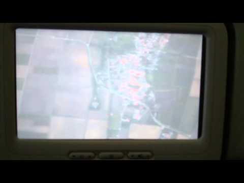 On Board Under Plane Camera - Frankfurt