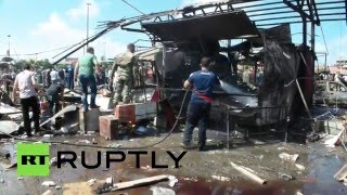RAW: Blast rocks Jableh near Russian military base in Latakia, Syria