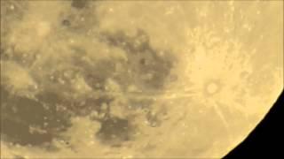 Lever de Lune - Montréal, le 25 avril 2013 à 22h16