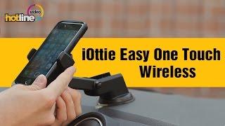 iOttie Easy One Touch Wireless ‒ обзор автомобильного держателя