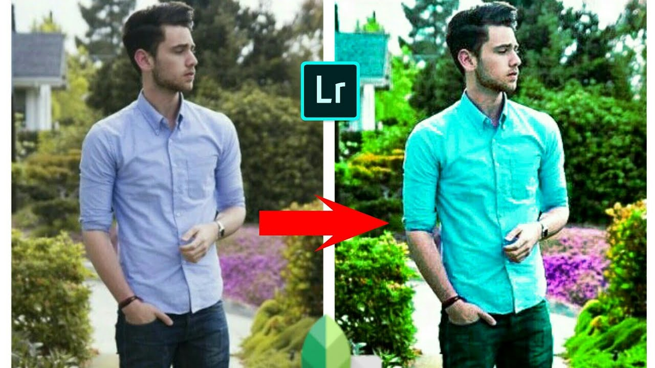 Photoshop and snapseed editing in Android phone
